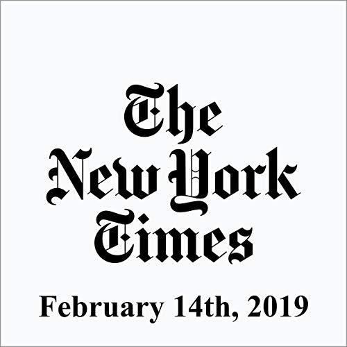 February 14, 2019 copertina