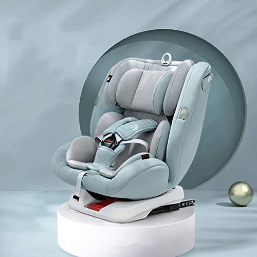QYT-Silla de Coche, Desde Recién Nacido hasta los 36 kg, Instalación con el Cinturón del Automóvil, Máxima Reclinación, Incluye Reductor,A