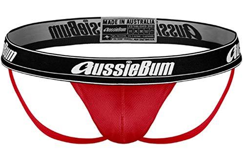 AussieBum Herren Jockstrap WONDERJOCK AIR (Red, S)