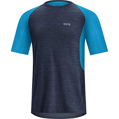 GORE WEAR - Running-T-Shirts für Herren in Orbit Blue/Dynamic Cyan, Größe L
