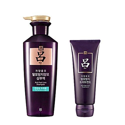 Ryoe, Amore Pacific Jayang Yoon Mo Shampoo For Sensitive 400Ml + Treantment 200Ml by 'Ryoe, Amore...