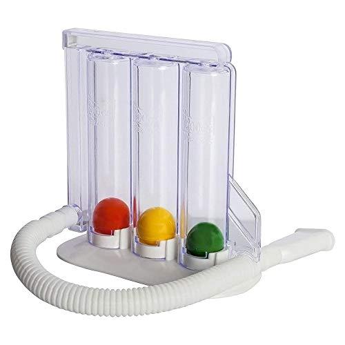 HealthAndYoga(TM) Deep Breathing Exerciser - Breath Exercise Measurement System