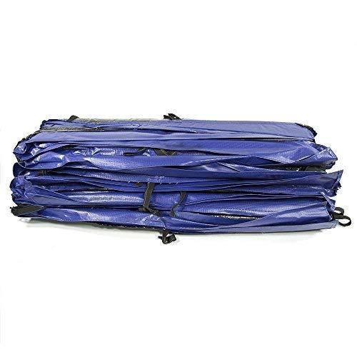 Skywalker Square Safety Pad (Spring Cover) for 15ft x 15ft Trampoline - Blue