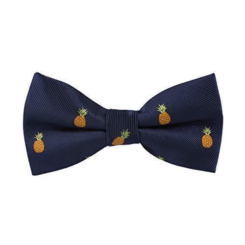 Krawatten für Lebensmittel und Getränke, Spezialitätsbindung, gewebt, schmale Krawatte, Geschenk für Arbeitskollegen - Orange - Dünn