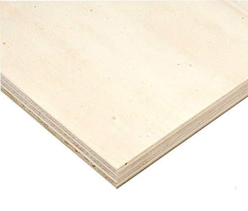 Tosend Pannello di Multistrato di pioppo Spessore mm 18 - Misure: cm 150 X 60