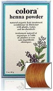 Natural Henna Hair Coloring Powder, Light Brown; 2oz