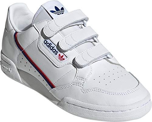 Adidas Continental 80 W Strap White Royal Scarlet 38.5