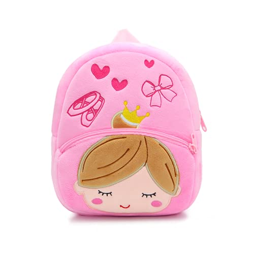 Cute Toddler Backpack Toddler Bag Plush Animal Cartoon Mini Travel Bag for Baby Girl Boy 2-6 Years(Ballet Girl)