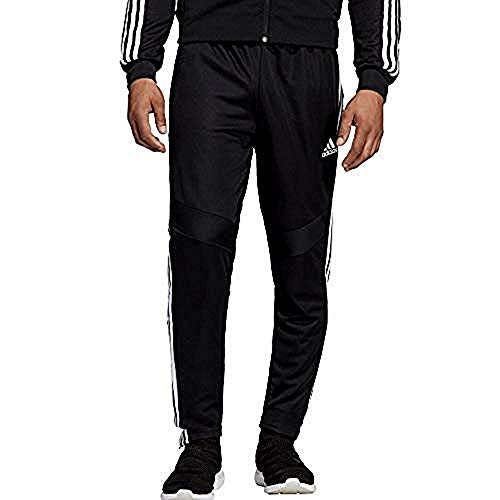 adidas Men's Tiro 19 Training Soccer Pants, Tiro '19 Pants, Black/White, Large