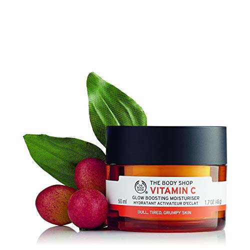 The Body Shop Crema hidratante tonificante e iluminadora con vitamina C.