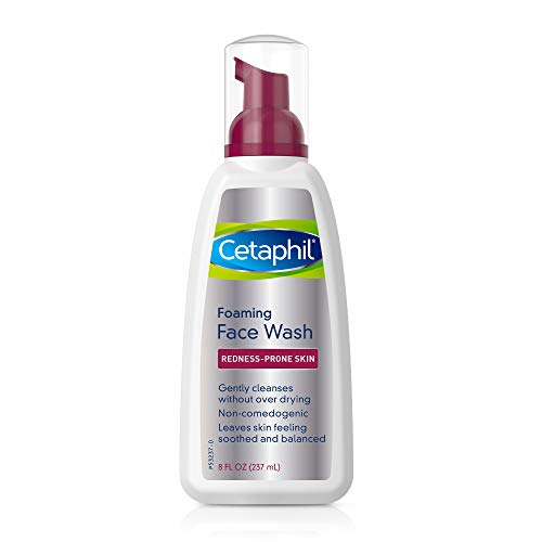 Cetaphil Redness Control Daily Foaming Face Wash, 8.0 Fluid Ounce