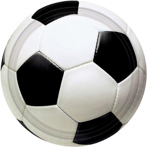 Amscan - Platos fútbol grandes (557040A)