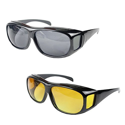 Siddhi Collection HD For Men & Women Driving Glasses Day & Night