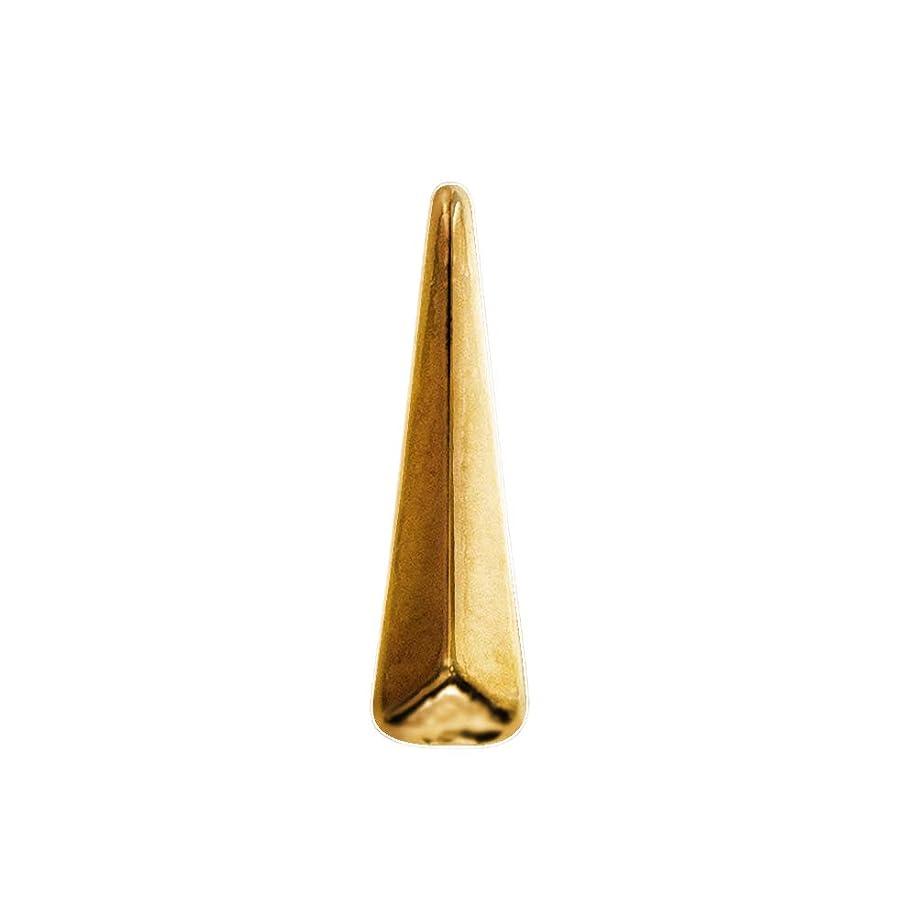 組み合わせ毛布足音Bonnail ロングトライアングル ゴールド 12P