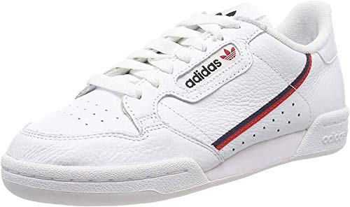 Adidas Sapatilhas Continental 80 Cloud White / Scarlet / Collegiate Navy 41 1/3 - G27706-41 1/3