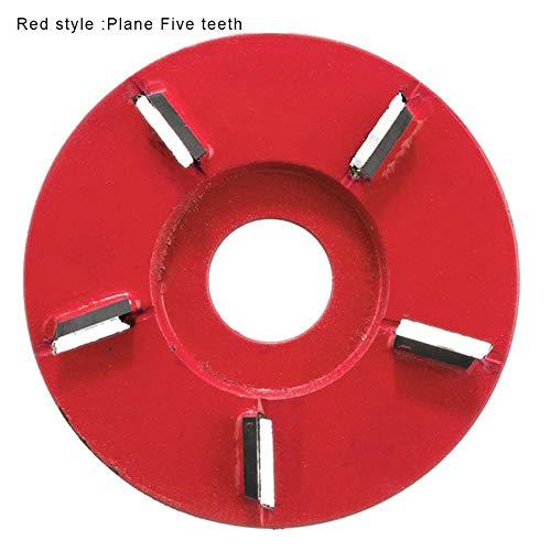 Cutogain Bildhauerwerkzeuge, Arc/Flat Teeth Holz Turbo Carving Disc Fräswerkzeuge für Winkelschleifer