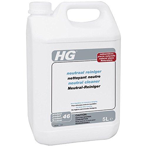 HG Neutral Cleaner for Natural Stone 5L - Safe Floor Cleaner - For Marble...