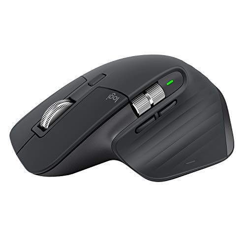 ロジクール アドバンスド ワイヤレスマウス MX Master 3 MX2200sGR Unifying Bluetooth 高速スクロールホイ...
