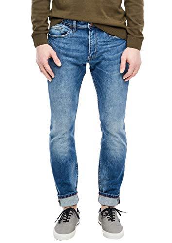 s.Oliver Herren 03.899.71.6201 Skinny Jeans, medium Blue, W33 (Herstellergröße: 33/34)