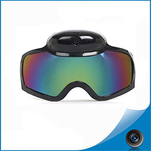 TBYGG 1080 P camera videomannen vrouwen snowboard bril, actie camera skibril, Live anti-fog lens voor Ski Live Image Video Monitoring, zonnebril camera Eyewear, 120 ° groothoek