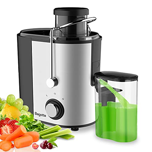 Monzana PRO-Vitamin Slow Juicer Masticating Whole Fruit /& Vegetable Extractor Cold Press 500 Watt 81mm Big Mouth Juicers Reverse Function High Nutrient Juicers