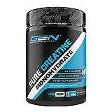 Creatina en polvo - 1kg / 1000 g - Monohidrato de creatina puro - Solubilidad óptima - Vegano - Sin aditivos - Polvo puro - German Elite Nutrition