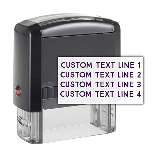 Our #2 Pick is the 904 Custom Personalized Address Stamp