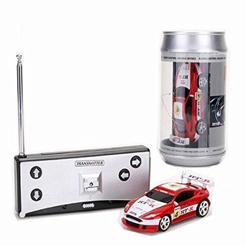 DIVISTAR Mini Coca-Cola Puede Velocidad RC Radio Control Remoto Micro Racing Car Juguetes Juego de Niños Regalo