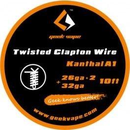 Filo Resistivo GeekVape Twisted Clapton Kanthal A1 (26GA*2 + 32GA) 3m