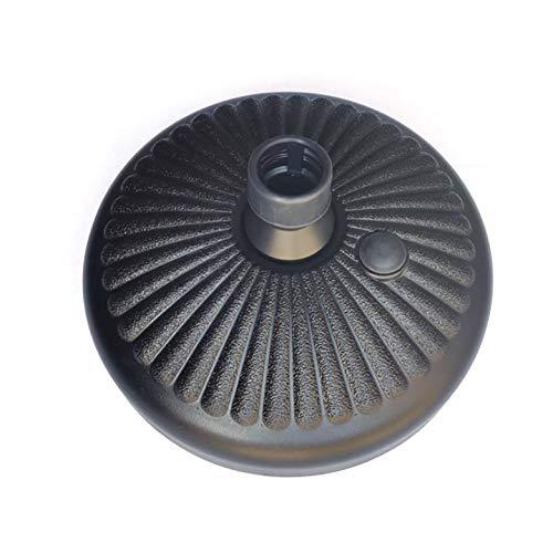 Dan&Dre Base redonda para sombrilla de jardín, soporte de base de plástico para sombrilla, base de agua y arena para exteriores, para patio, patio, sombrilla
