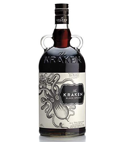The Kraken - Rum nero speziato. Bottiglia da 100cl, vol. 40%