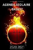 Agenda Scolaire 2020 2021 Basket: Agenda Semainier et Journalier pour Garcon et Fille Ado avec Emploi du temps, Calendrier, Objectifs et Liste de ... et Lycée Pour Planifier Une Année Réussie