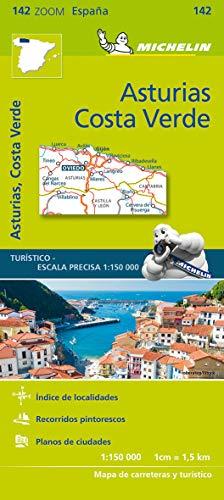 Mapa Zoom Asturias, Costa Verde: 142 (Mapas Zoom Michelin)