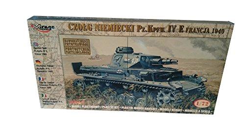 Mirage Hobby 72863, 1:72 échelle, char allemand Pz Kpfw. IV E 'France 1940', kit de modèle en plastique