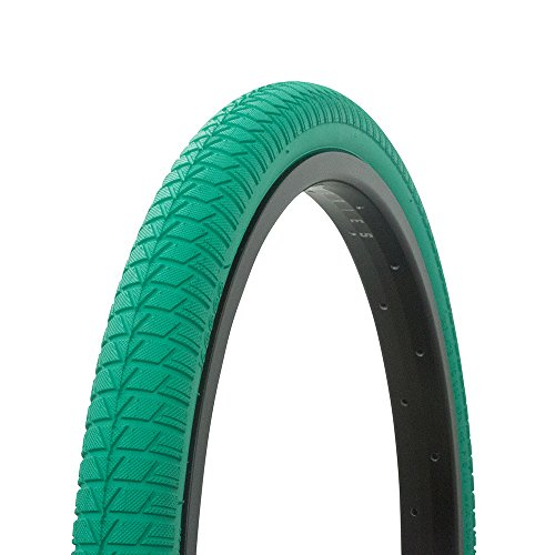 Fenix Cycles Wanda Vendetta Tread Bicycle Tire White Wall 20 x 1.75, for Bikes, (Green)