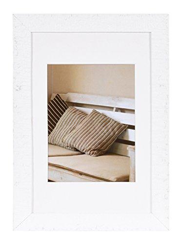 Henzo Driftwood 20x30 weiss Bilderrahmen, Holz, 20 x 30 cm