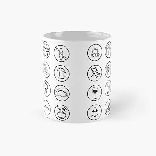 Taza clásica Sunday Funday I   El mejor regalo divertidas tazas de café de 325 ml