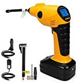 CARYWON Portable Air Compressor Pump Cordless Tire Inflator...
