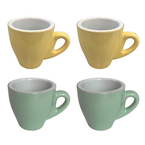 CREOFANT Juego de 4 tazas de espresso · Juego de tazas de...