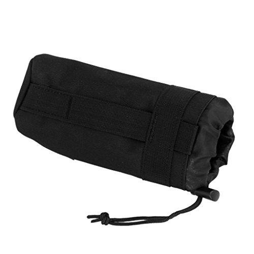 Sharplace Sac Pochette de Bouteille d'eau pour Camping Noir