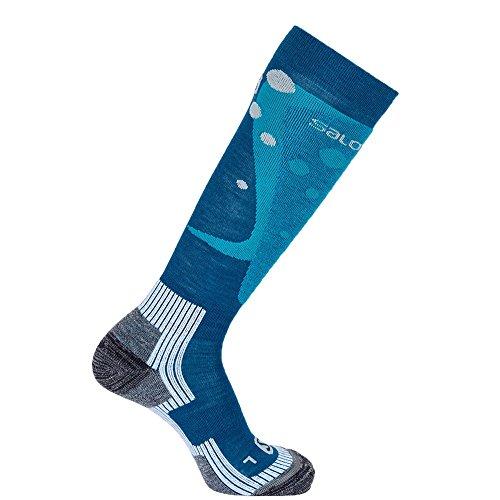 SALOMON Socken Divine, kouak Blue/Rooster Blue, Gr. L / 42-44