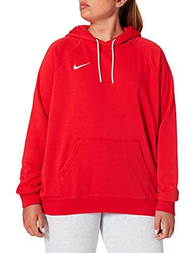 Nike Damen Women's Team Club 20 Hoodie Kapuzenpullover, University Red/White/White, XL