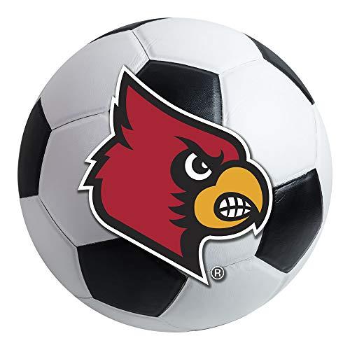 FANMATS NCAA University of Louisville Cardinals Nylon Face Soccer Ball covid 19 (Louisville Football Rug coronavirus)