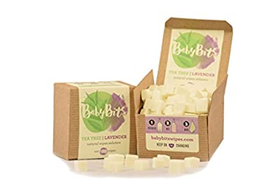 Baby Bits Wipes Solution - Makes 1,000 Natural Wipesx2022; Made in the USA! (1 Pack)