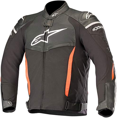 Alpinestars Chaqueta moto Sp X Jacket Black Red Fluo, Negro/Rojo, 52