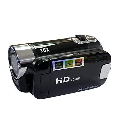H HILABEE 1080P HD-Camcorder CMOS 2,7'...