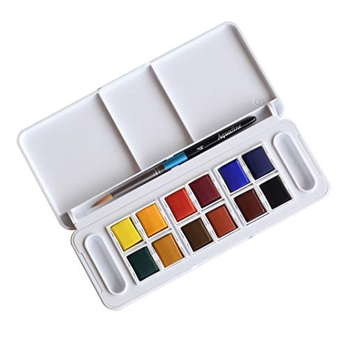 DALER-ROWNEY Aquafine Half Pan Travel Watercolor Set