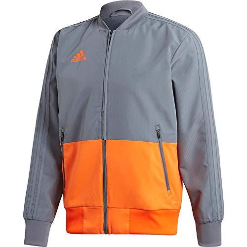 adidas Condivo 18 Jacket Chaqueta, Hombre, Multicolor (Onix/Naranja), M