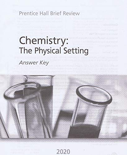 (2020 Brief Review) New York Chemistry : The Physical Setting Answer Key