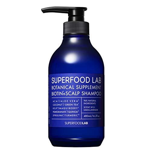 SUPERFOOD LAB(スーパーフード ラボ) ビオチン+スカルプ シャンプー